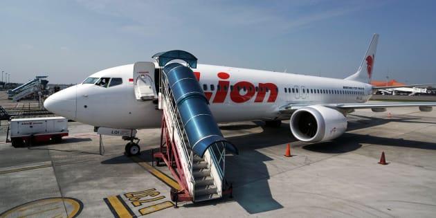 Un Boeing 737 MAX 8 de Lion Air sur le tarmac de l'aéroport international Soekarno-Hatta de Cenkareng, en Indonésie, le 15 mars 2019.