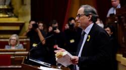 Quim Torra, un acérrimo de Puigdemont al que acusan de