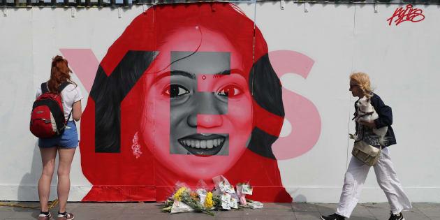 """En Irlande, le """"oui"""" au droit à l'avortement l'emporte avec une majorité écrasante de 66,4%."""