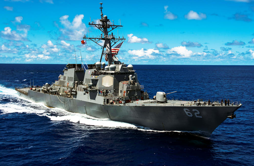 US Navy sailor missing in South China Sea - AOL News