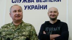 Un journaliste russe annoncé mort réapparaît en vidéo avec les services secrets