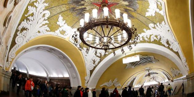 La estación Komsomolskaya. REUTERS/Grigory Dukor