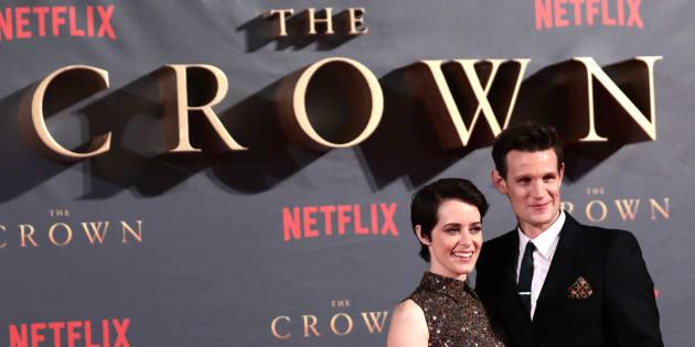 """L'actrice Claire Foy, tête d'affiche de la série Netflix """"The Crown"""" gagnait 230.000 euros de moins que Matt Smith son partenaire à l'écran."""