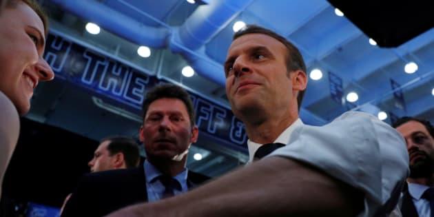 """""""Trump est prévisible"""": Macron n'a pas été avare de confidences à la presse américaine."""