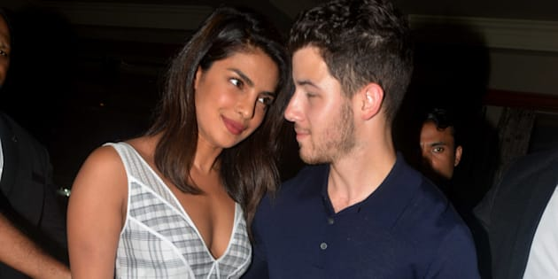A file photo of Priyanka Chopra and Nick Jonas.