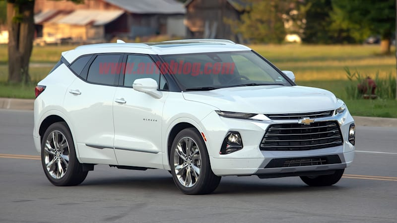 2019 Chevy Blazer Spied For The First Time Uncovered On Public Streets