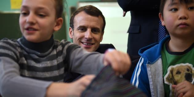 Assises de la maternelle: Macron retourne (encore) à l'école.