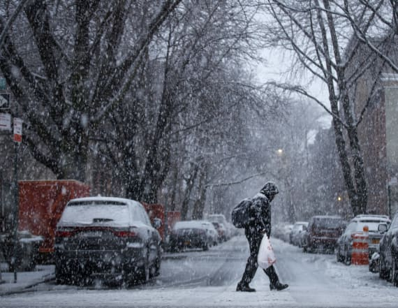 Third winter storm may pester East Coast next week