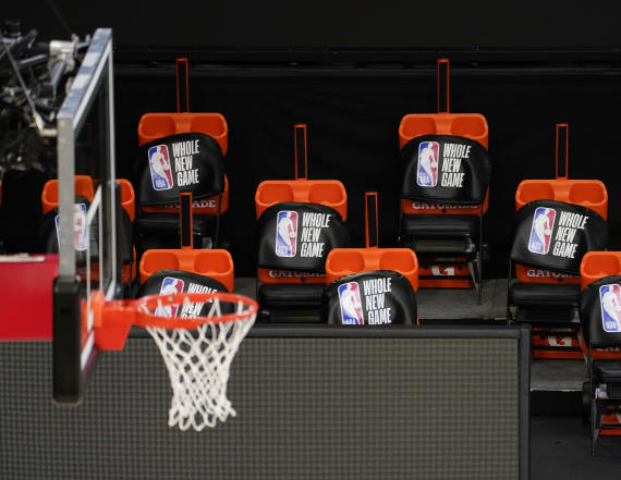 NBA outlines plans for players to allow guests
