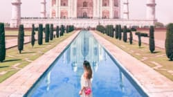 A Renowned Travel Blogger Is Getting Dragged For Posting Photoshopped Images, Including One Of The Taj