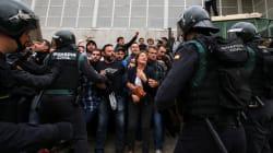 Référendum en Catalogne: les affrontements entre policiers et manifestants en