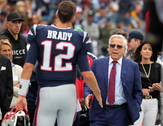 Robert Kraft says Brady is 'definitely' the G.O.A.T.