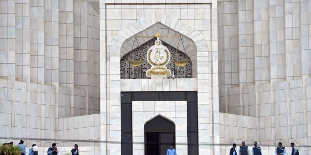 La Cour suprême du Pakistan.