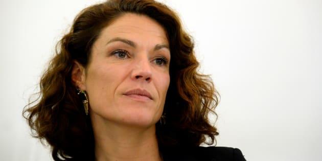 """Chantal Jouanno, ici à Paris en octobre 2015, exclut de démissionner et dénonce des """"attaques personnelles incompréhensibles""""."""