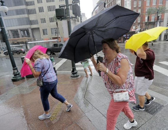 Gulf prepares for the worst as Barry strengthens