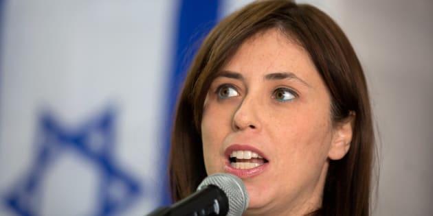 La vice-ministre israélienne des Affaires étrangères Tzipi Hotovely.
