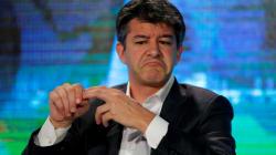 El CEO de Uber pelea con conductor sobre bajas