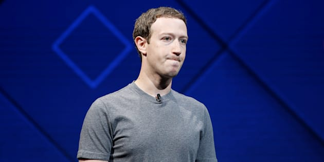 Facebook founder and CEO Mark Zuckerberg speaks on stage during the annual Facebook F8 developers conference in San Jose, California, April 18, 2017.