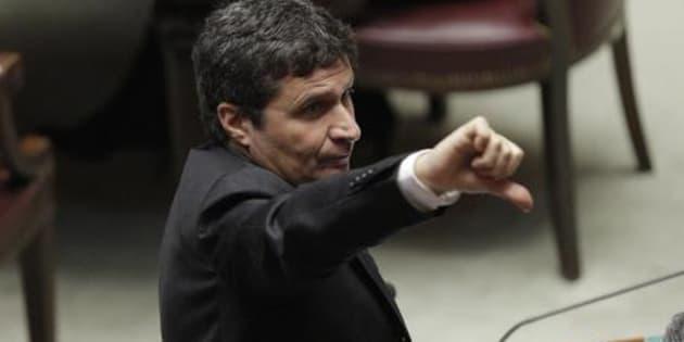 David Ermini, responsabile Giustizia nella nuova segreteria del Partito democratico. ANSA/GIUSEPPE LAMI
