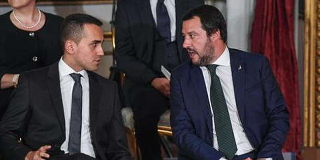 L'Italia è in recessione, ma Di Maio e Salvini litigano coi numeri di Bankitalia e Fmi