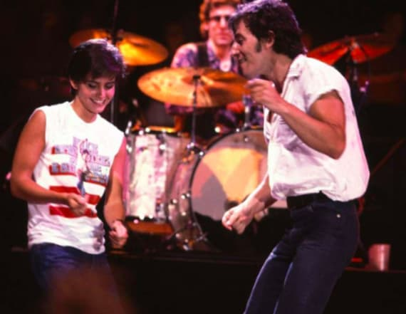 Courteney Cox attends Springsteen's Broadway show