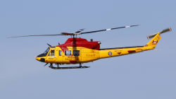 A Canadian Forces Helicopter Smashed A Hole Into A Florida Roof With A