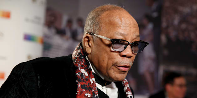 Quincy Jones à Washington le 3 décembre 2017.