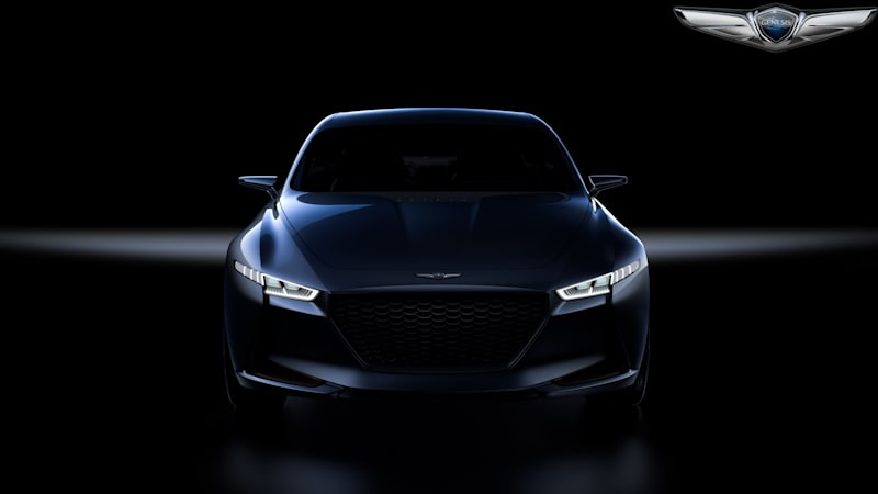 Genesis Is In A New York State Of Mind With Its Sedan Concept Autoblog