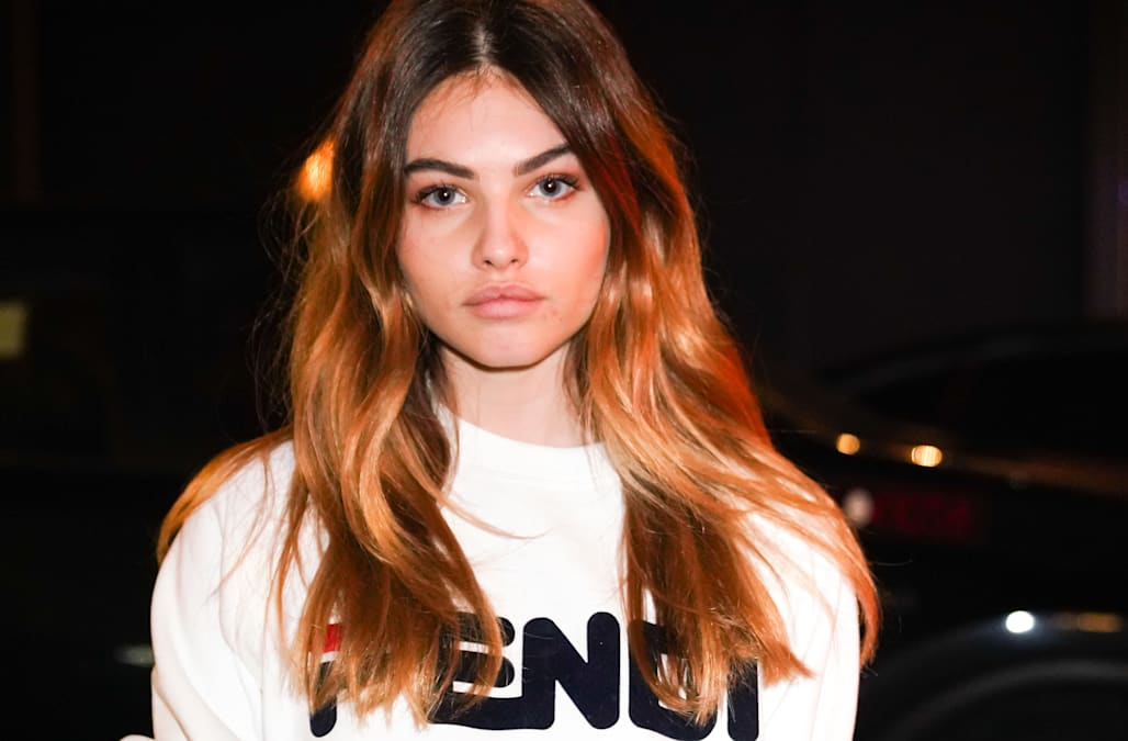 """2a0c3d95 She was crowned the """"most beautiful girl in the world"""" when she was just 6,  and Thylane Blondeau has now won the title again at the age of 17."""