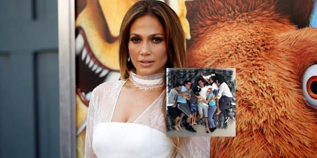 Jennifer Lopez partage une photo de son ex-mari Marc Anthony avec ses enfants pour le soutenir après la mort de sa mère