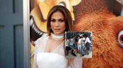 Jennifer Lopez partage une photo de son ex-mari avec ses enfants pour le soutenir après la mort de sa