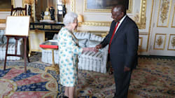 Queen Elizabeth II Gives Ramaphosa Two Letters From