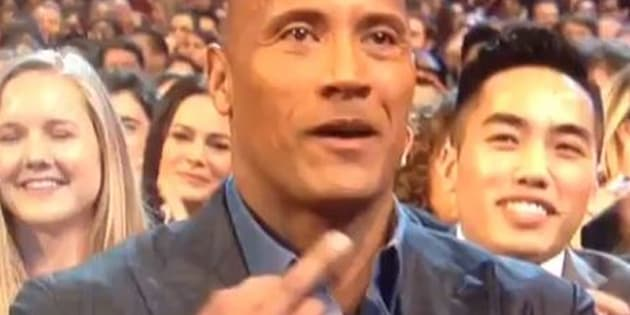 The Rock aux People Choice Awards