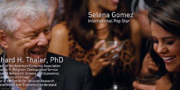 Quand le Prix Nobel d'Économie donnait la réplique à Selena Gomez