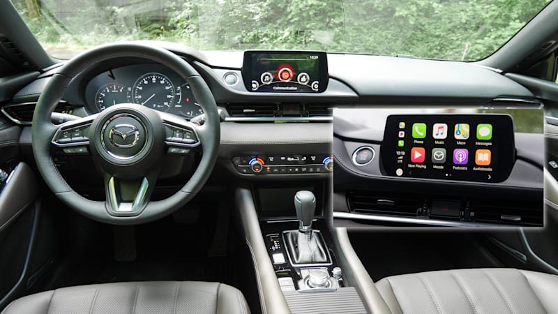 2018 Mazda 6 can be upgraded with Apple CarPlay, Android