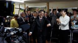 65票差で翁長派の新人が制す。沖縄・南城市長選に行ってみた。