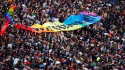 Les images de la foule monstre réunie à Chemnitz pour communier contre l'extrême