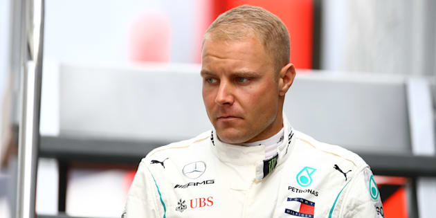 AUTODROMO NAZIONALE, MONZA, ITALY - 2018/09/01: Valtteri Bottas of Finland and  Mercedes AMG Petronas F1 Team in the paddock during the Formula One Grand Prix of Italy.
