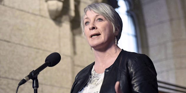Minister of Employment, Workforce Development and Labour Patty Hajdu speaks to reporters during a weekend meeting of the national caucus on Parliament Hill, Ottawa, March 25, 2017. Hajdu has outlined plans to improve oversight of the temporary foreign worker program.