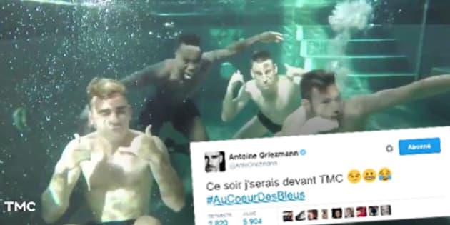 """""""Au Coeur des Bleus"""" sur TMC: pourquoi Antoine Griezmann sera devant sa télévision ce soir"""