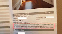 La réponse de l'agence Laforêt à son annonce immobilière