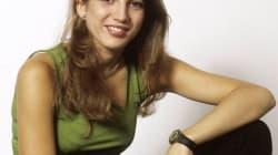 Lucía Jiménez rescata una foto de las fiestas de los actores de 'Al salir de