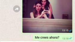Se hace pasar por Blanca Suárez en WhatsApp y la escatológica conversación ya es
