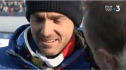 Maurice Manificat craque (un peu) en direct après sa déception en ski de