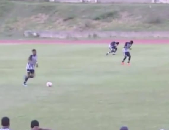 Lightning strikes youth soccer players during game