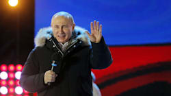 Putin Re-Elected In Crushing