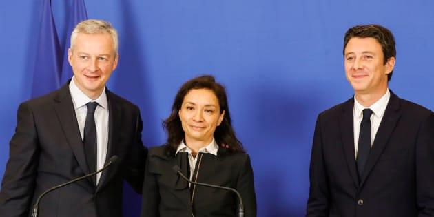 Les premiers mots de Delphine Gény-Stephann, la nouvelle secrétaire d'Etat à l'Economie.