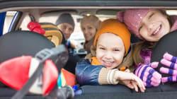 12 solutions pour occuper les enfants pendant le trajet et les