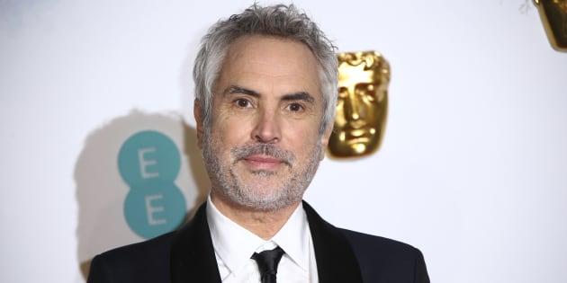 Alfonso Cuarón durante la alfombra roja de los Bafta.