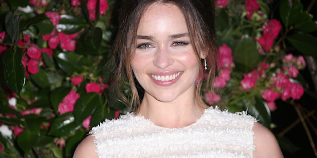 La actriz Emilia Clarke.